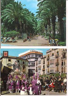 Murcia Semana Santa y  Jardines de Floridablanca. Sin Circular.