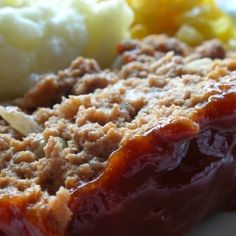 Classic Meatloaf by basil-albi