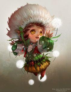 Dandelion Picture by The Art Of Po Wen powenart