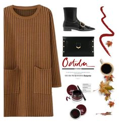 """One Sunday in Autumn"" by pattykake ❤ liked on Polyvore featuring Prada, Topshop, Jimmy Choo and Garance Doré"