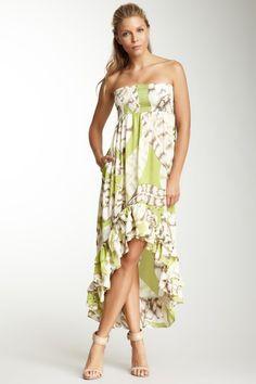 Smocked Hi-Lo Tube Dress. Cute for Hawaii!