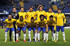 Brazil is my favorite team out of all the teams that I like.