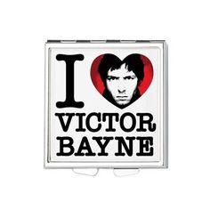 I Love Victor Bayne Square Pill Box http://www.cafepress.com/jcpgifts.975661209