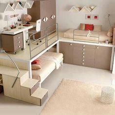 Dormitorio juvenil #infantil #dormitorios_infantiles