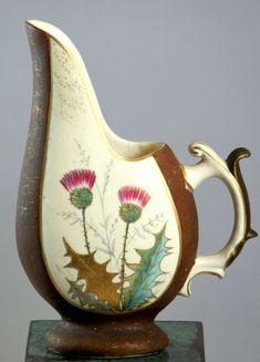 Rustic Ceramic Pottery Vase Decorative Jug Pitcher Urn Barrel Distressed Finish