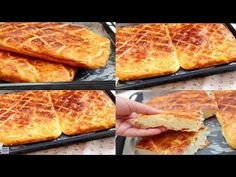 YouTube Breads, French Toast, Food And Drink, Foods, Breakfast, Cake, Youtube, Pastries, Brioche