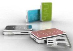 card reader for card storing