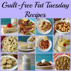 Guilt Free Fat Tuesday Recipes - Celebrating Mardi Gras with some good for you healthy versions of your favorite Southern dishes.