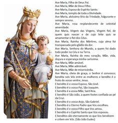 Invocações a Virgem Maria