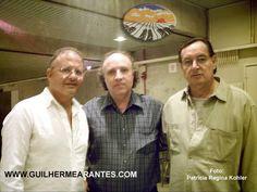 2007 com Trovadores Urbanos. Na foto com JC Costa Netto e Walter Franco