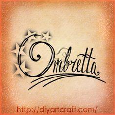 Ombretta name #tattoo