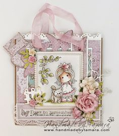 Tamara's blog about creating with Magnolia rubber stamps for various occasions.