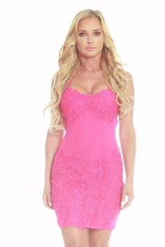 Issue Floral Lace Dress