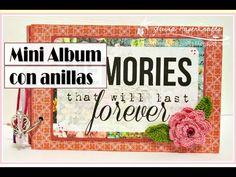 Luisa PaperCrafts #minialbum #scrapbooking con anillas