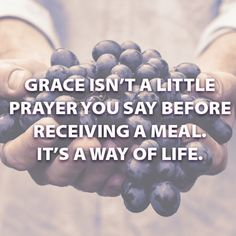 Thank you God for your grace!