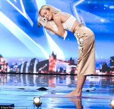 Ruff day! Amanda Holden was left furious with the parents of an eight-year-old comedian wh...