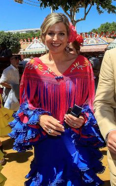 10 May 2019 - Dutch Royal Familiy attends the April Fair in Seville, Spain Nassau, Queen Of Netherlands, King Alexander, Dutch Queen, Dutch Royalty, Perfect Model, Queen Maxima, Queen Elizabeth Ii, King Queen