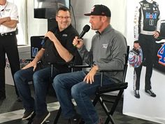 Tony Stewart and Clint Bowyer Clint Bowyer, Nascar Sprint Cup, Tony Stewart, My Man, Champion, Racing, Awesome Shoes, Smoke, Baby