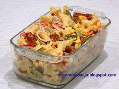Fruit Salad, Potato Salad, Macaroni And Cheese, Potatoes, Impreza, Hot Dog, Ethnic Recipes, Food, Diet