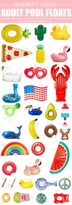 How (and where) to save on summer's most adorable adult pool floats!
