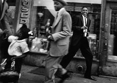 NYC. Moves + Pepsi, Harlem,1955 // William KLEIN