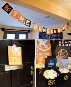 Hunger Games Party. I like the look of this!