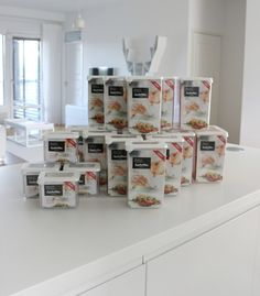 Food Storage Boxes, Lunch To Go, Food Waste, Nordic Design, Pantry, New Homes, Tableware, Kitchen, Decor