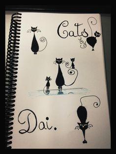 Cositas que hago para relajarme... Tema de hoy: gatitos ❤. 09/05/2012