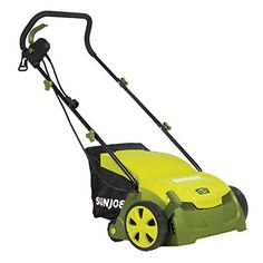 Special Offers - Sun Joe AJ801E 12 Amp 13 Electric Scarifier Plus Lawn Dethatcher with Collection Bag For Sale - In stock & Free Shipping. You can save more money! Check It (September 19 2016 at 10:05PM) >> http://aircompressorusa.net/sun-joe-aj801e-12-amp-13-electric-scarifier-plus-lawn-dethatcher-with-collection-bag-for-sale/