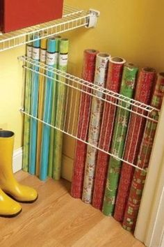Organization  wrapping paper