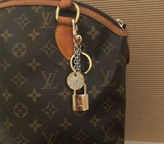 a431a213be11 Authentic Louis Vuitton Lock with Purse Charm Authentic Louis Vuitton