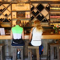 Hit the new tasting rooms in Malibu wine country.