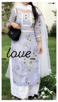 Punjabi Suit Neck Designs, Neck Designs For Suits, Kurta Neck Design, Sleeves Designs For Dresses, Dress Neck Designs, Stylish Dress Designs, Punjabi Suits Designer Boutique, Indian Designer Suits, Simple Kurta Designs