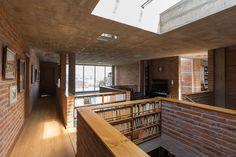 José Miguel Mantilla Salgado, JAG Studio · La Casa del Profesor de Historia Architecture Details, Brick, Studio, Outdoor Decor, Home, Arquitetura, Saddle Pads, Houses, Professor