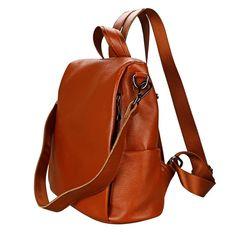 Buy On Business Laptop Backpack - Original Genuine Leather Backpack - Leather Large Capacity backpack men laptop backpack business shoulder bags. Best Laptop Backpack, Backpack Bags, Leather Backpack, Laptop Camera, Office Bags For Women, Aztec Bag, Cute School Bags, Girl Backpacks, School Backpacks