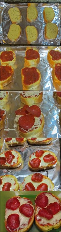 Garlic Bread Pizza Recipe