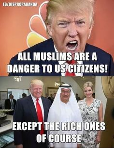Trump taking exception to rich Saudis.  Who murder people.  Especially slaves.