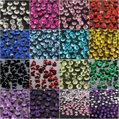 2000pcs 4.5mm Wedding Decoration Crystals Diamond Table Confetti Party Supplies #Unbranded #WeddingPartyBirthdayFestival