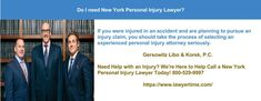 Do I Need To Hire New York Personal Injury Lawyer