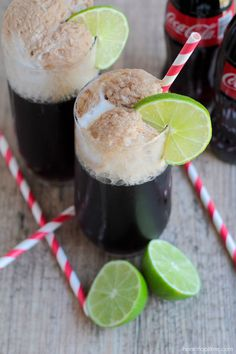 Coke floats!