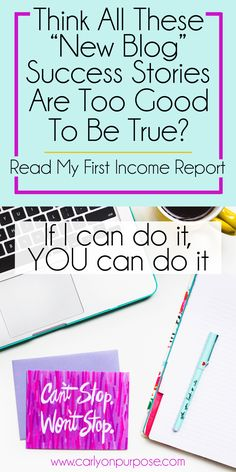 Want to start a blog but don't believe you can do it? Start a money making blog…