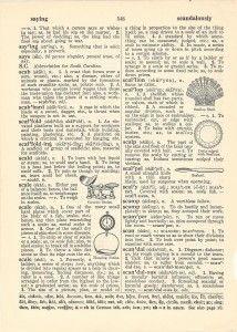 Three Vintage Dictionary Pages for Art Prints - The Graffical Muse Vintage Newspaper, Vintage Ephemera, Vintage Paper, Art Nouveau Poster, Printable Scrapbook Paper, Old Book Pages, Vintage Art Prints, Grafik Design, Lettering