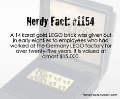 Nerdy fact #1154