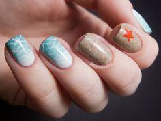 Chalkboard Nails: nail art