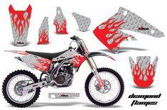 Kawasaki KX250F 2004-2005 Graphics Kit Decals, Racing, Motorcycle, Kit, Stickers, Adventure, Vehicles, Deadpool, Graphics