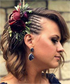 Short and medium hairstyles 2020: 150 beautiful ideas! Medium Short Hair, Very Short Hair, Short Straight Hair, Short Curly Hair, Medium Hair Styles, Curly Hair Styles, Elegant Hairstyles, Summer Hairstyles, Beautiful Hairstyles