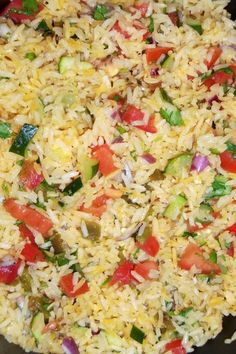 Garlicky Zucchini Rice with Pico de Gallo - Hispanic Kitchen Potato Side Dishes, Rice Dishes, Side Dish Recipes, Vegetable Recipes, Clean Eating Recipes, Healthy Eating, Mexican Food Recipes, Vegetarian Recipes, Zucchini Rice