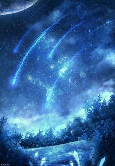 [HIATUS] anime set of images that the author found in the gallery author. Want to save, save wrote. Gak is prohibited. Cute Galaxy Wallpaper, Night Sky Wallpaper, Wallpaper Space, Anime Scenery Wallpaper, Landscape Wallpaper, Cute Wallpaper Backgrounds, Pretty Wallpapers, Fantasy Art Landscapes, Fantasy Landscape