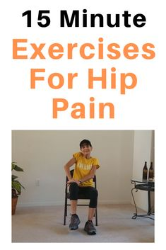 Relieve hip pain in a chair with these easy at-home exercises Best Exercise For Hips, Full Body Workout At Home, Hip Workout, At Home Workouts, Senior Fitness, Yoga Fitness, Fitness Workouts, Arthritis Exercises, Aerobic Exercises