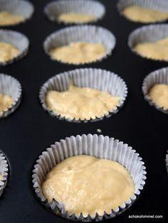 Teig für Apfelmus-Muffins